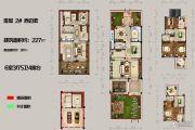 恒佳太阳城6室3厅5卫227平方米户型图
