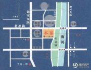 大同月亮湾交通图