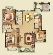 中国铁建・东来尚城3室2厅1卫139平方米户型图