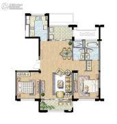 太湖锦园3室2厅2卫115平方米户型图
