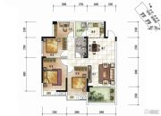 清泉城市广场2室2厅1卫0平方米户型图