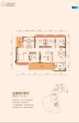 TCL康城四季5室2厅2卫141--142平方米户型图