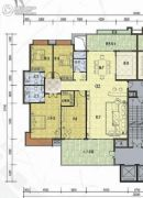 榕东新城4室2厅2卫255平方米户型图