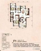 芭东海城3室2厅2卫149平方米户型图