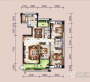 �L凰68院3室2厅2卫173平方米户型图