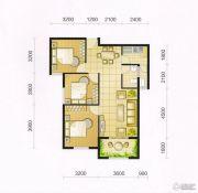 东城・华府3室2厅1卫95平方米户型图