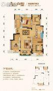金科城4室2厅2卫0平方米户型图