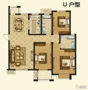 紫薇壹�3室2厅2卫139平方米户型图