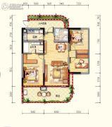 皇家海湾公馆3室2厅2卫125--153平方米户型图