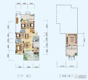 中铁・世纪山水5室2厅3卫190平方米户型图
