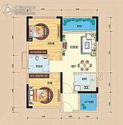 龙光阳光海岸2室1厅1卫71平方米户型图