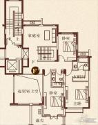 彩虹湖4室2厅4卫0平方米户型图