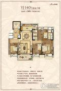 盐城碧桂园4室2厅2卫140平方米户型图