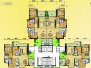 水岸花城3室2厅2卫97--99平方米户型图