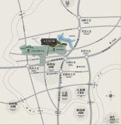 东原湖山樾交通图