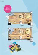 福州万家广场0室0厅0卫45平方米户型图
