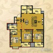 芙蓉山庄3室2厅2卫149平方米户型图
