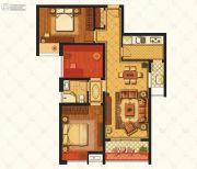 江铃瓦良格3室2厅1卫89平方米户型图