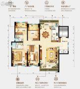 台山碧桂园盛世华府4室2厅2卫143平方米户型图