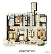 翡丽甲第3室2厅2卫180平方米户型图
