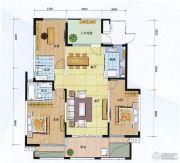 阳光100国际新城3室2厅2卫140平方米户型图
