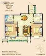 佳源广场2室2厅2卫95--110平方米户型图