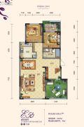 白鹿溪谷4室2厅2卫184平方米户型图