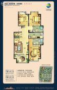 荣盛・锦绣外滩3室2厅2卫104--117平方米户型图