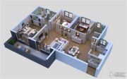 保利城3室2厅2卫123平方米户型图
