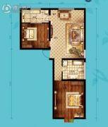 北海・水印泉山2室2厅1卫93平方米户型图