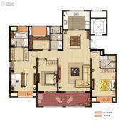 公馆18954室2厅3卫170平方米户型图