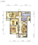 阳光城・丽兹公馆3室2厅1卫90平方米户型图