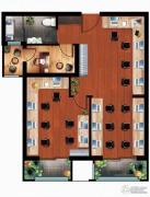 丁豪广场2室1厅0卫0平方米户型图