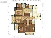 天都城・天熙公馆5室2厅2卫245平方米户型图