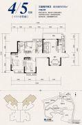 恒大照母山3室2厅2卫93平方米户型图