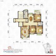 丽汤・首山梦之湾3室2厅1卫121平方米户型图