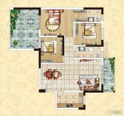 中正皇御园二期3室2厅2卫0平方米户型图