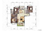 随州东方御景3室2厅2卫118平方米户型图