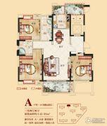合肥铜冠花园3室2厅2卫142平方米户型图