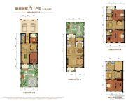 金昌启亚・白鹭金岸3室3厅4卫342平方米户型图