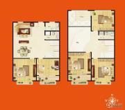 佳达生活广场5室2厅2卫116平方米户型图