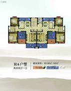 康辉・苏州壹号2室2厅1卫104--105平方米户型图
