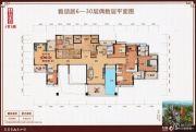 鹤山十里方圆5室3厅4卫394平方米户型图