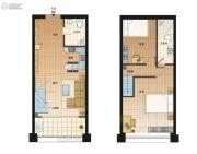 广州白云国际医药智慧产业园2室1厅2卫0平方米户型图