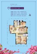 群升江山城4室2厅2卫125平方米户型图