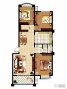 齐鲁涧桥2室2厅1卫121平方米户型图