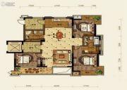 中铁人杰水岸3室2厅2卫140平方米户型图