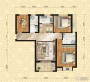 东方今典中央城3室2厅2卫120平方米户型图