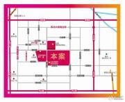 新天地商业广场交通图