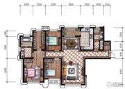 东港第3室2厅2卫158平方米户型图